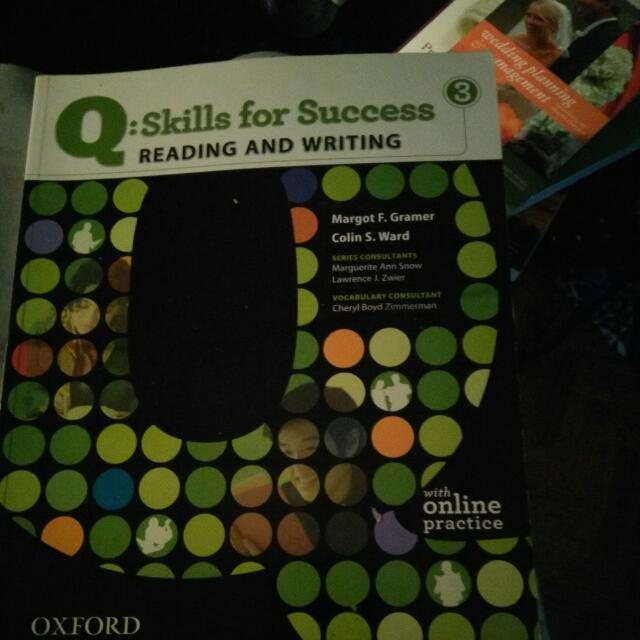 Skills And Success Reading And Writing