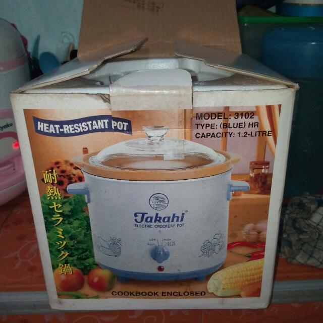 Slow Cooker TAKAHI 1,2L