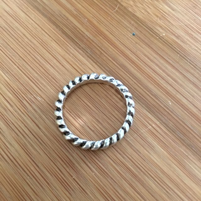 Sterling Silver 925. Single Ring. Size 14++