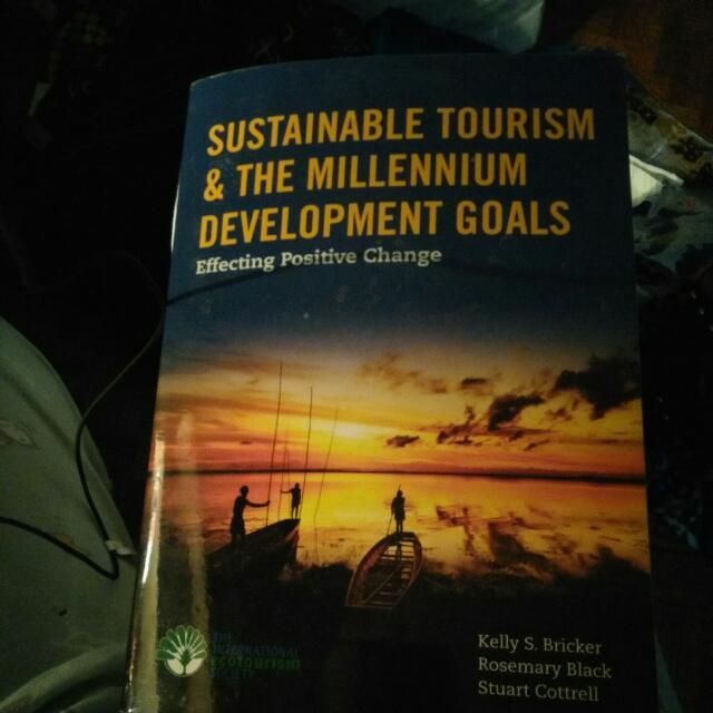 Sustainable Tourism And The Millennium Development Goals