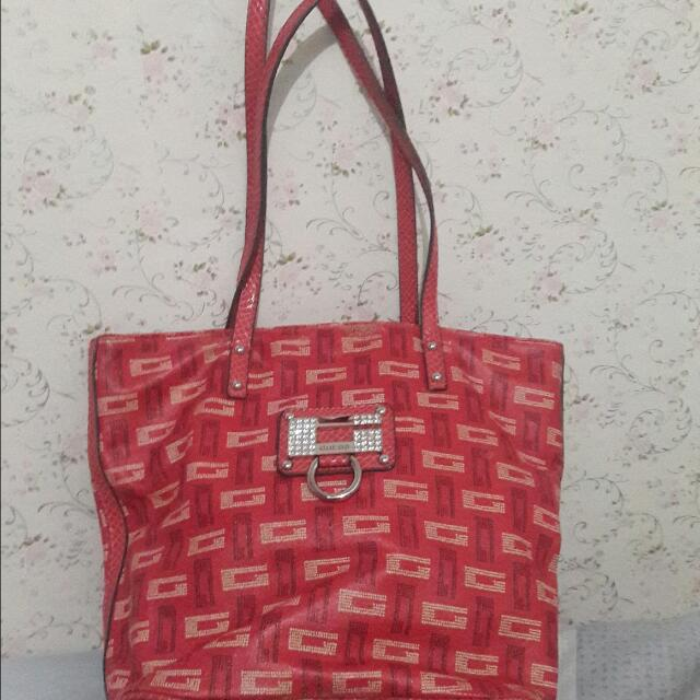 Tas GUESS pink (Original) With Defect