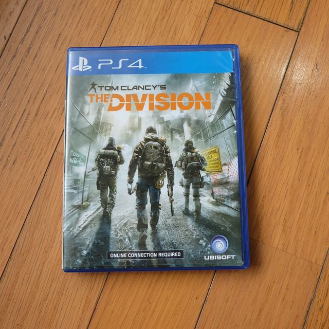 The Division - Playstation 4 Video Games