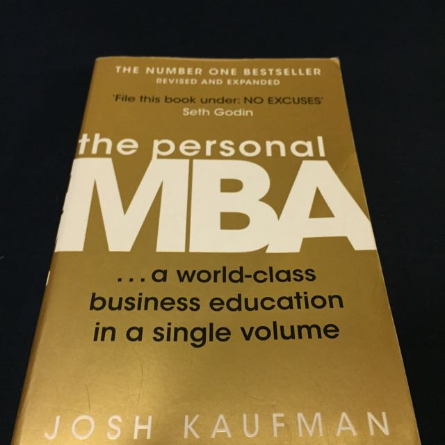 The Personal MBA, Josh Kaufman (原文)NT100
