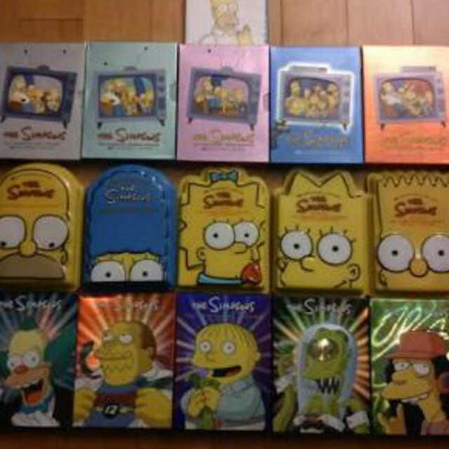 The Simpsons Season 1-12 Plus Special Edition Season 20