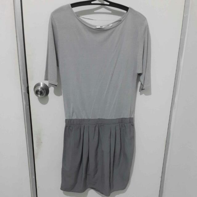 UNIQLO ORIGINAL Grey Dress