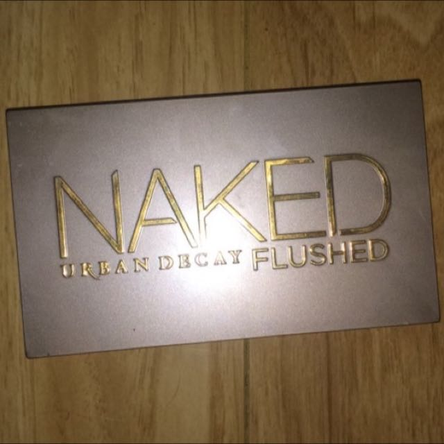 "Urban Decay's ""Flushed"""