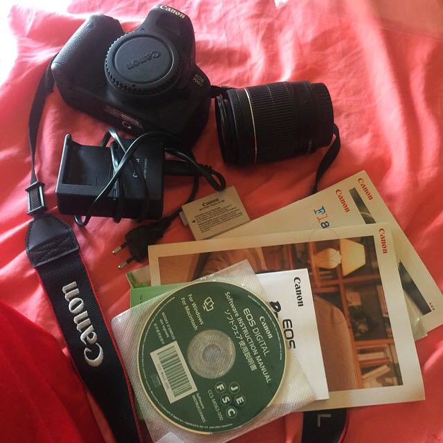 Used Canon Eos 700d Photography On Carousell