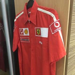 Baju FILLA Ferrari Red