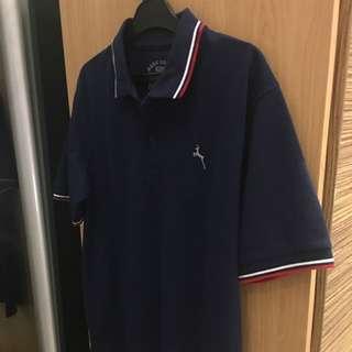 Baju Polo Navy Blue