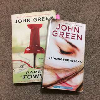 JOHN GREEN: Looking For Alaska & Papertowns