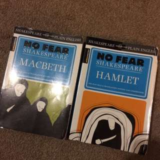 NO FEAR SHAKESPEARE: Macbeth And Hamlet