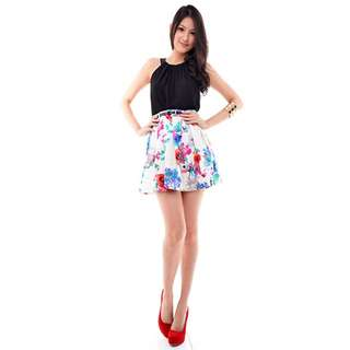 Fashmob Origami Pleated Skirt