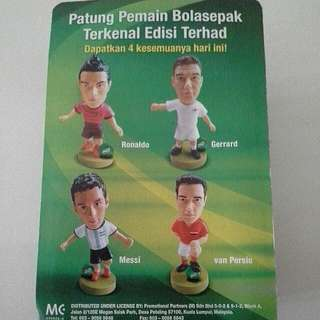 Milo Collectible Footballer Figurine 2014