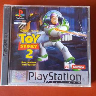 Toy story 2 & Populous 'Playstation 1 games'