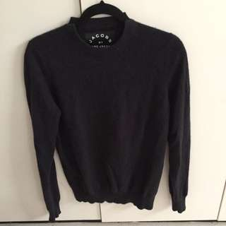 Marc Jacobs Black Cashmere Sweater