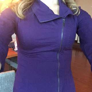 Dynamite Purple Blouse