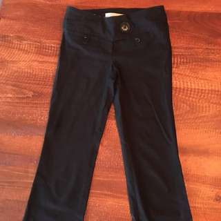 Dynamic Black Work Pants