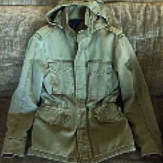 H&M military Olive Green Jacket