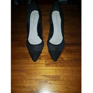 Target Collection Black Stiletto Heels