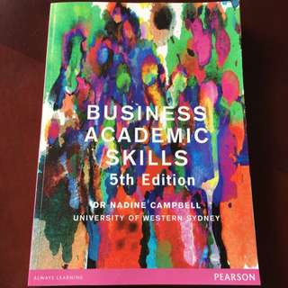 Business Academic Skills 5th Edition
