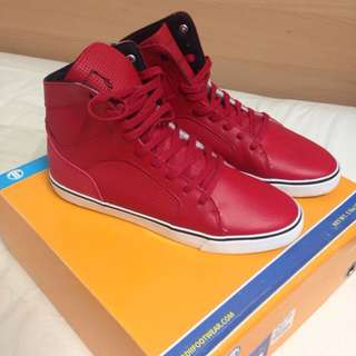Radii High Top Red Size 11
