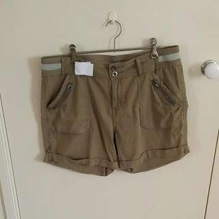 Glassons Khaki Shorts
