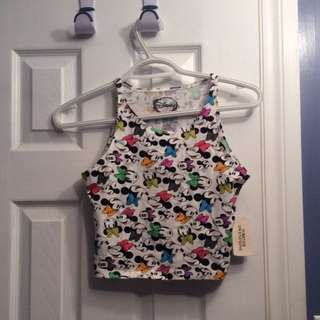 New Disney Crop Top