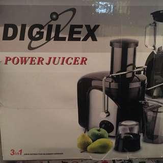 Juicer Digilex Power Juicer Brand New