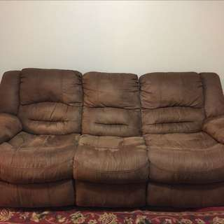 3 Years Used Recliner Sofa