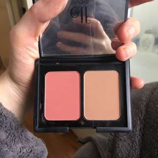 E.l.f Blush/bronzer Duo In Fiji Matte