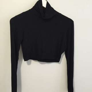 High Neck Misguided Crop