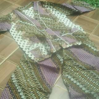 Piyama Tidur Batik