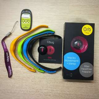 3 Activity Trackers/Accelerometers/Sleep Trackers
