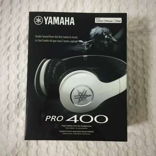 Yamaha Pro-400 White Headphones
