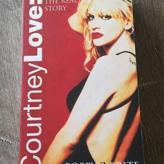 Courtney Love The Real Story Novel By Poppy Brite