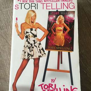 Stori Telling By Tori Spelling Autobiography Novel