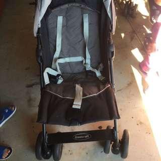 steel craft stroller