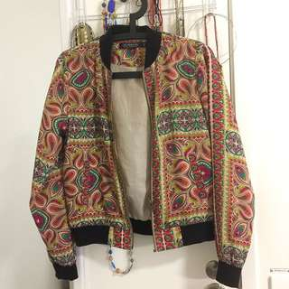 Glassons Print Bomber Jacket