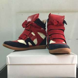 wedges sneakers size 38 insole 24cm
