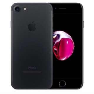 WTS: iPhone 7 128gb Matt Black.
