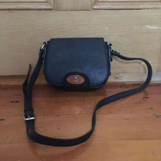 Black Sportsgirl Shoulder Bag