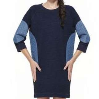 GORMAN Jumper Dress With Patches