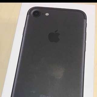 Iphone7 128G 消光黑