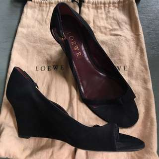 authentic loewe wedges size 39