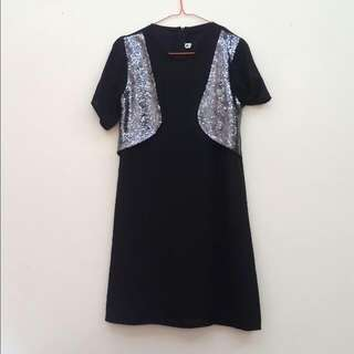 STRATTO Glittery Dress