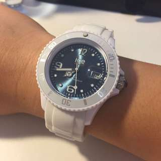 authentic white Ice Watch