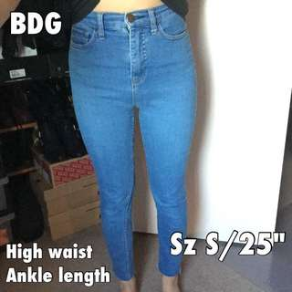 BDG High Waist Reworked Denim Pants
