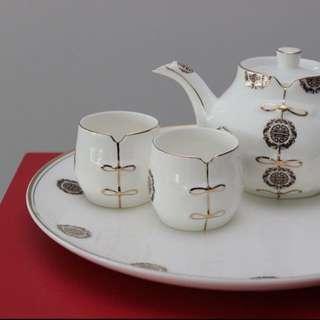 ❗️SALE❗️Bone Porcelain Tea Pot Set