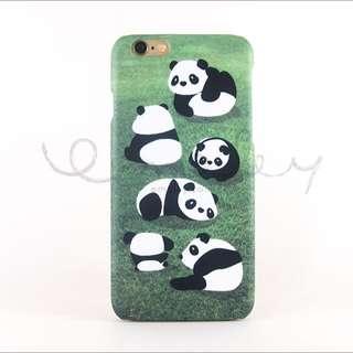 Lazy Panda iPhone 6 / 6S Casing