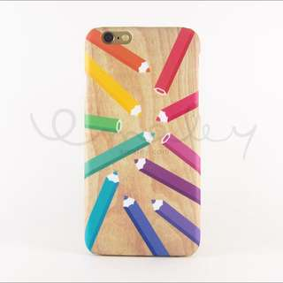 Pencil Colour iPhone 6 / 6S Cover